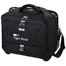 View a larger, more detailed picture of the High Sierra Integral Deluxe Wheeled Laptop Bag - 24 hr