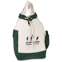 View a larger, more detailed picture of the Nautical Shoulder Tote Bag - Closeout