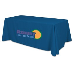 View a larger, more detailed picture of the Closed-Back Table Throw - 6 - Heat Transfer - 24 hr