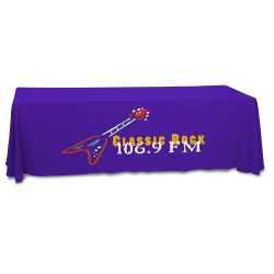View a larger, more detailed picture of the Closed-Back Table Throw - 8 - Heat Transfer - 24 hr
