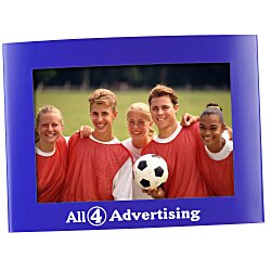 View a larger, more detailed picture of the 4 x 6 Curve Photo Frame - 24 hr