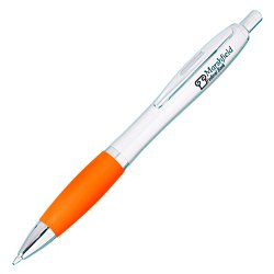View a larger, more detailed picture of the Curvy Pen - Silver Brights - Gel - 24 hr
