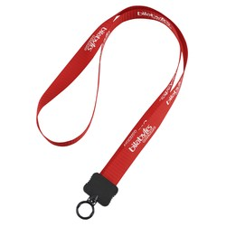 View a larger, more detailed picture of the Woven Polypropylene Lanyard - 3 4 - 36 Length