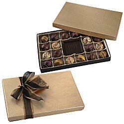 View a larger, more detailed picture of the Truffles & Chocolate Bar - 20 Pieces