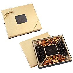 View a larger, more detailed picture of the Treat Mix - 10 oz - Gold Box - Dark Chocolate Bar