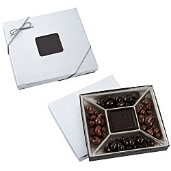 View a larger, more detailed picture of the Treat Mix - 10 oz - Silver Box - Dark Chocolate Bar