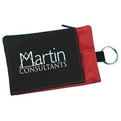 View a larger, more detailed picture of the Folding Wallet with Key Ring