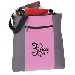 View a larger, more detailed picture of the Color Strike Tote - Closeout