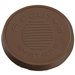 View a larger, more detailed picture of the Chocolate Treat - 5 oz - Round