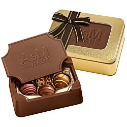 View a larger, more detailed picture of the Chocolate Box w Truffles - Small