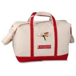 View a larger, more detailed picture of the Nautical Weekender Duffel - Closeout