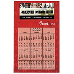 View a larger, more detailed picture of the Bic 20 mil Calendar Magnet - Thank You - 24 hr