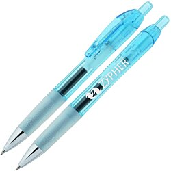 View a larger, more detailed picture of the Bic Intensity Clic Gel Rollerball Pen - Translucent - 24 hr