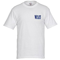 View a larger, more detailed picture of the All-American Tee - White