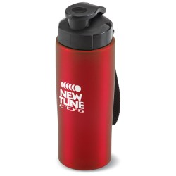 View a larger, more detailed picture of the Easy-Grip Stainless Steel Bottle - 18 oz - Closeout