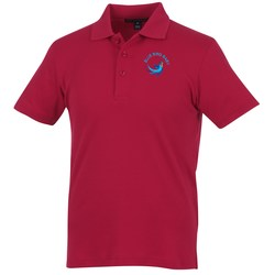 View a larger, more detailed picture of the Silk Touch Interlock Polo - Men s