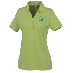 View a larger, more detailed picture of the Silk Touch Interlock Polo - Ladies 