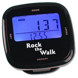 View a larger, more detailed picture of the Touch Screen Pedometer