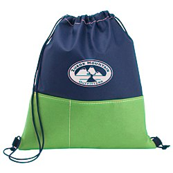 View a larger, more detailed picture of the Patch Pocket Drawstring Sportpack - 24 hr