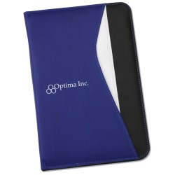 View a larger, more detailed picture of the Swerve Matte Laminate Jr Padfolio - 24 hr