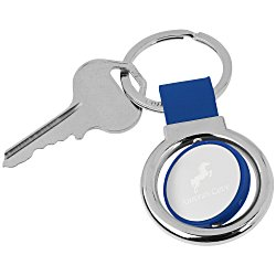 View a larger, more detailed picture of the Spinner Key Tag Round
