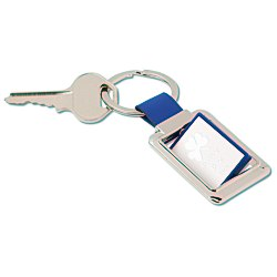View a larger, more detailed picture of the Spinner Key Tag Rectangle