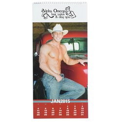 View a larger, more detailed picture of the Male Physique Calendar
