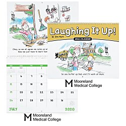 View a larger, more detailed picture of the Family Life Funnies Calendar - Spiral