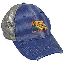 View a larger, more detailed picture of the Dirty Washed Mesh-Back Cap