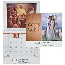 View a larger, more detailed picture of the God s Gift Calendar