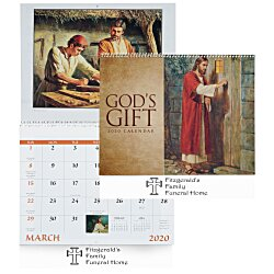 View a larger, more detailed picture of the God s Gift Calendar - Funeral Pre-Planning