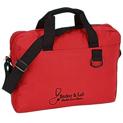 View a larger, more detailed picture of the Slim Organizer Brief Bag - Screen