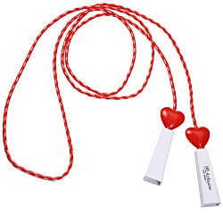 View a larger, more detailed picture of the Heart Fitness Jump Rope