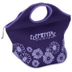 View a larger, more detailed picture of the Ella Neoprene Lunch Cooler - Flowers