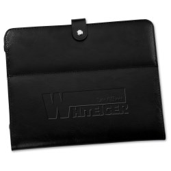 View a larger, more detailed picture of the Deluxe Tablet Stand - Leather - Closeout