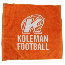 View a larger, more detailed picture of the Jewel Collection Soft Touch Sport Stadium Towel - 15 x 18