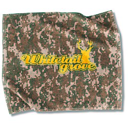 View a larger, more detailed picture of the Camo Sport Towel