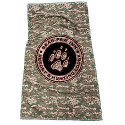 View a larger, more detailed picture of the Camo Beach Towel