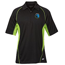 View a larger, more detailed picture of the Serac UTK cool logik Performance Polo - Men s