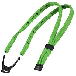 View a larger, more detailed picture of the Dual-Use Cotton Lanyard Eyewear Retainer - 1 2