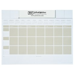 View a larger, more detailed picture of the Adhesive Note Calendar Desk Pad