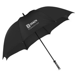 View a larger, more detailed picture of the LogoView Golf Umbrella - 60 Arc - Closeout