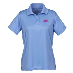 View a larger, more detailed picture of the Harriton Moisture Wicking Polo - Ladies - 24 hr