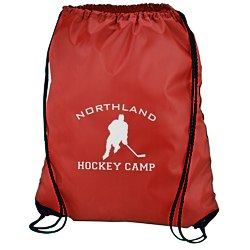 View a larger, more detailed picture of the Drawstring Sportpack - 20 x 17 - 24 hr