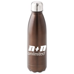 View a larger, more detailed picture of the Elements Stainless Sport Bottle - 26 oz