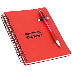 View a larger, more detailed picture of the Pen-Buddy Notebook - 24 hr