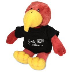 View a larger, more detailed picture of the Mascot Beanie Animal - Cardinal - 24 hr
