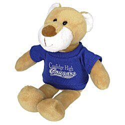 View a larger, more detailed picture of the Mascot Beanie Animal - Cougar - 24 hr