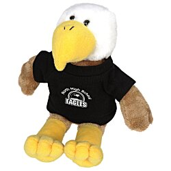 View a larger, more detailed picture of the Mascot Beanie Animal - Eagle - 24 hr
