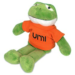 View a larger, more detailed picture of the Mascot Beanie Animal - Frog - 24 hr